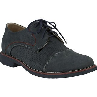 Spring Step Men's Liam Oxford Gray Nubuck