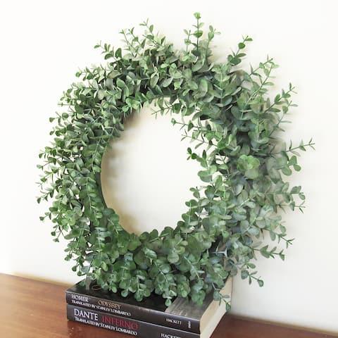 Eucalyptus Full Wreath 16in
