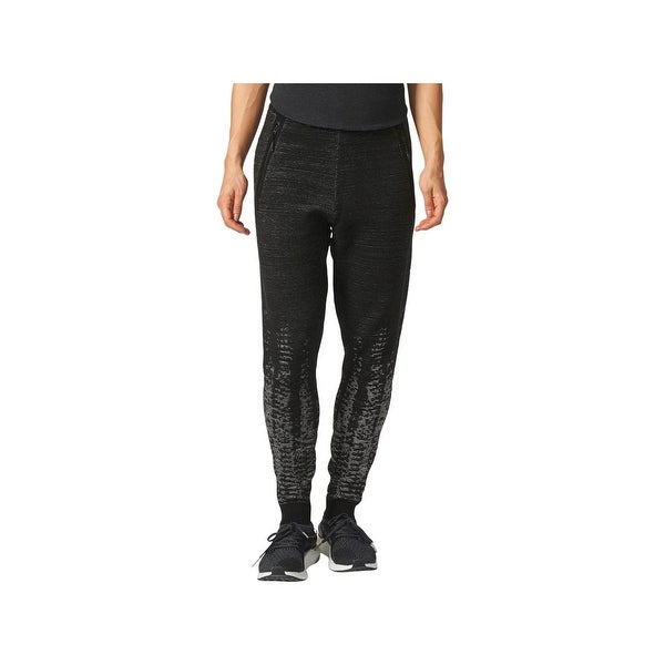 a6d306b2a30 Shop Adidas Womens Athletic Pants Wool Blend Textured - Free Shipping Today  - Overstock.com - 22532694