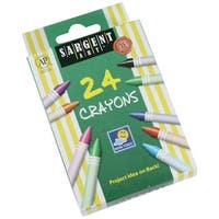 Sargent Art Non-Toxic Crayon, Assorted Color, Pack of 24
