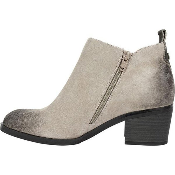 Sienna Ankle Bootie Light Taupe Suede