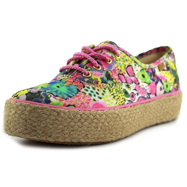 Keds Triple Liberty Round Toe Canvas Sneakers