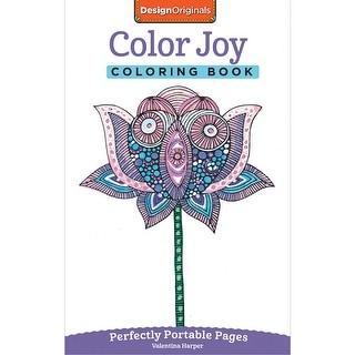 Design Originals-Color Joy Coloring Book