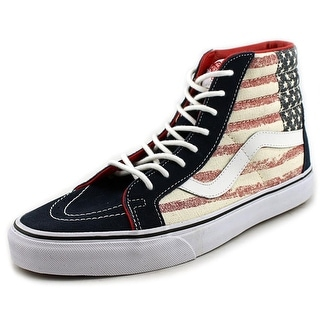 Vans Sk8-Hi Reissue Round Toe Canvas Sneakers