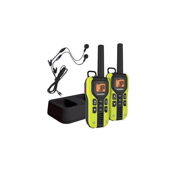 Uniden GMR4060-2CKHS Two Way GMRS Radios w/ Headset (2-pack)