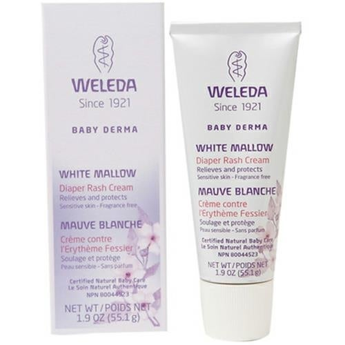 Weleda - White Mallow Baby Derma Diaper Rash Cream ( 1 - 1.9 OZ)