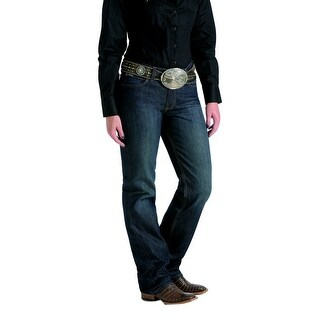 Cinch Western Denim Jeans Womens Jenna Relaxed Straight Dk