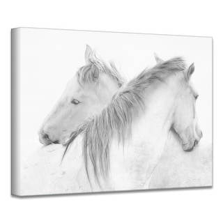 Link to Horses' Farmhouse Wrapped Canvas Wall Art Similar Items in Canvas Art