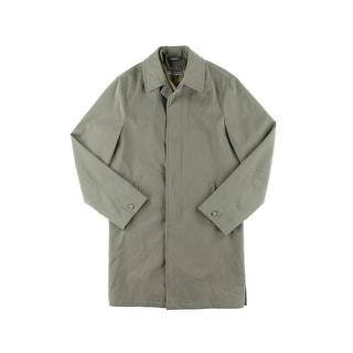 Calvin Klein Mens Water Resistant Long Sleeves Coat - 40L