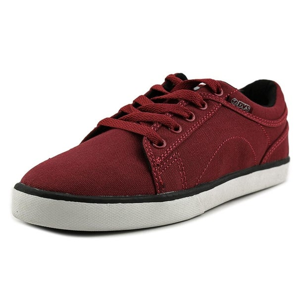 DVS Aversa CTX Youth  Round Toe Canvas Red Skate Shoe