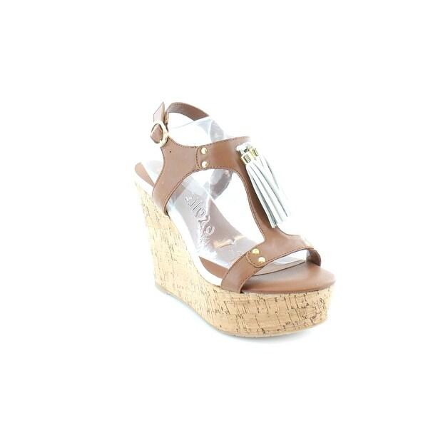 G.I.L.I. Kate Women's Sandals Cognac - 5.5