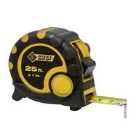Steel Grip XD130211 25 ft. Tape Measure Rubber comfort grip
