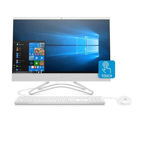 HP 24-F0046 FHD Touch WLED All-in-One PC AMD A9 8GB 1TB (Refurbished) - White