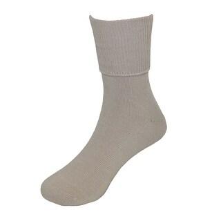 Jefferies Socks School Uniform Seamless Turn Cuff Anklet Socks