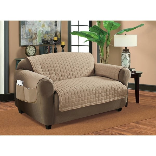 Deluxe Plush, Quilted Furniture Protectors