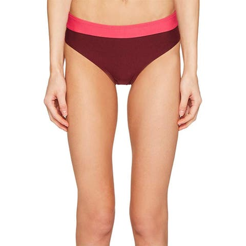 Kate Spade New York Women's Carmel Beach #60 Hipster Bikini Bottom Tagine Pink Small - S