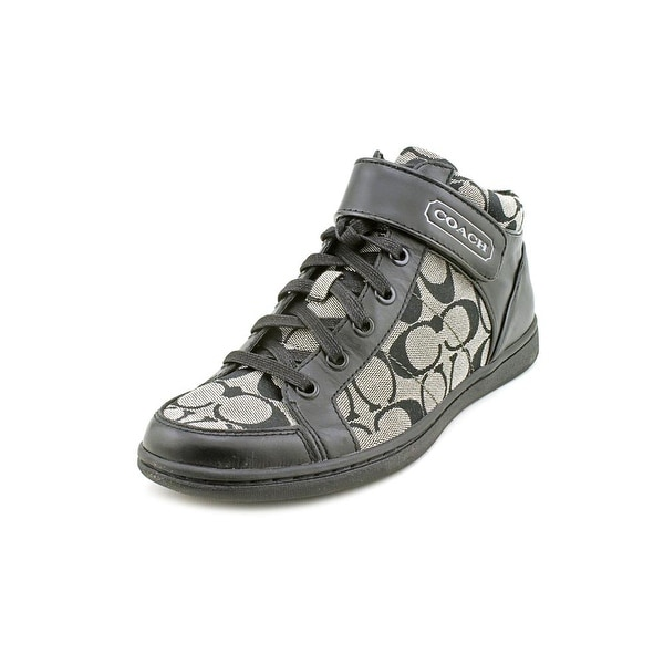 Coach Zoey   Round Toe Canvas  Sneakers