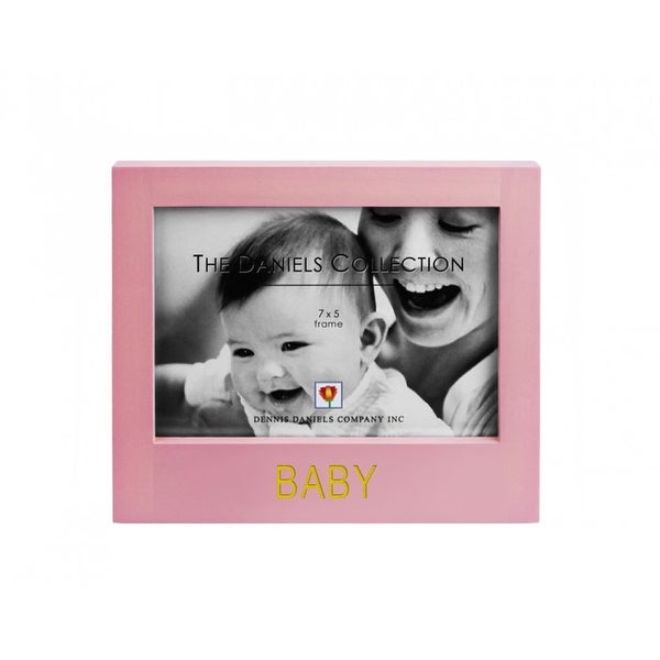 Dennis Daniels Pink Baby Picture Frame