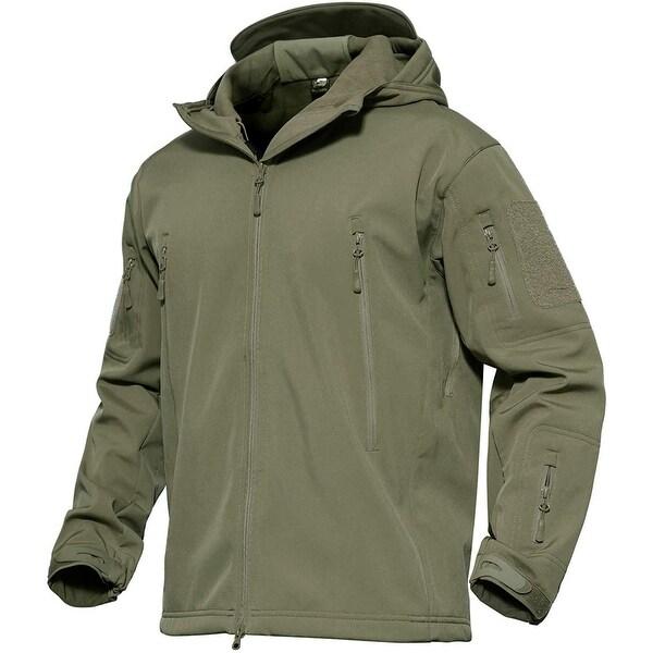 Dark Fashion Logo Mock Up: Shop Magcomsen Mens Jacket Army Green Size 3XL Big & Tall