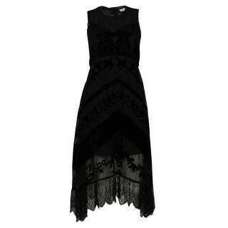 MADE for Impulse Women's Sleeveless Scoop Neck Floral Design Dress