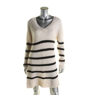 Scotch & Soda Womens Home Alone Tunic Sweater Striped Oversized