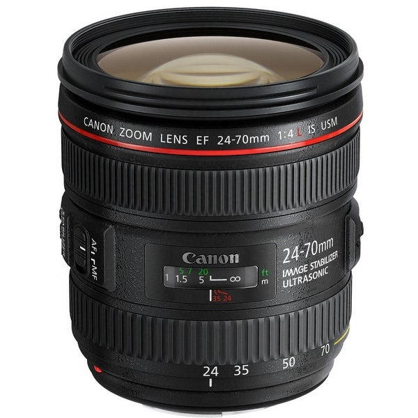 Canon EF 24-70mm f/4L IS USM Lens (International Model)