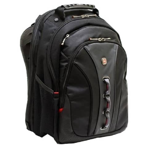 SwissGear Legacy Carrying Case Backpack for Notebooks (Black)