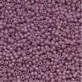 Toho Round Seed Beads 15/0 52 'Opaque Lavender' 8 Gram Tube - Thumbnail 0