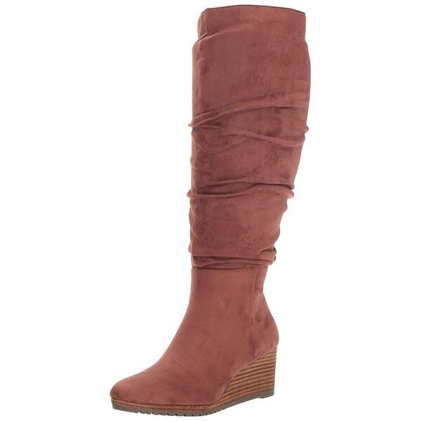 cb519b5ec991c Shop Dr. Scholl's Women's Central Wide Calf Knee High Boot - Free ...