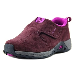 Merrell J Moc Sport Ac Toddler W Round Toe Suede Sneakers