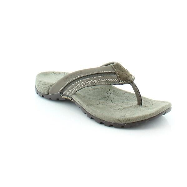Merrell Sandspur Fern Men's Sandals & Flip Flops Boulder/Aluminum