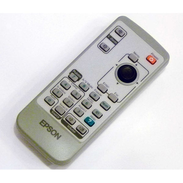 Epson Remote Control Originally Shipped With EMP-6010, EMP-6110, PowerLite 6110i