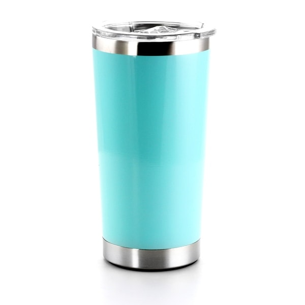 Mr. Coffee Quinlan 20 Ounce Stainless Steel Thermal Tumbler in Teal. Opens flyout.