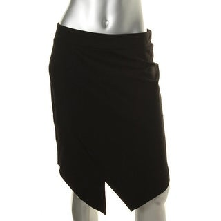 Kensie Womens Juniors Ponte Stretch Pencil Skirt
