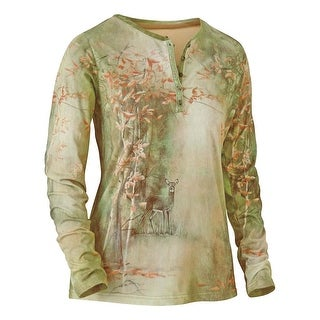 Legendary Whitetails Women's Wooded Serenity Long Sleeve Henley