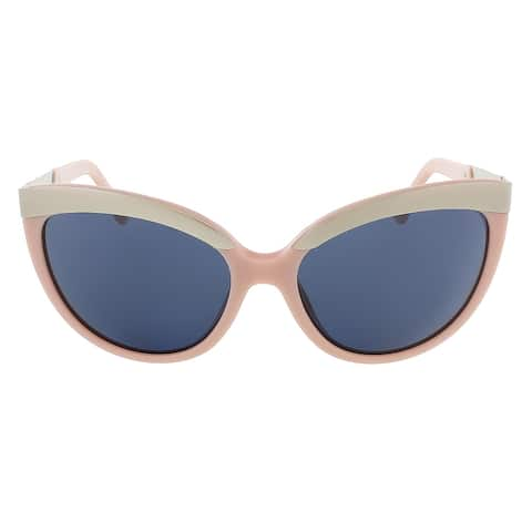 Diesel DL0117/S 72V Baby Pink/Silver Cat Eye sunglasses - 59-17-135