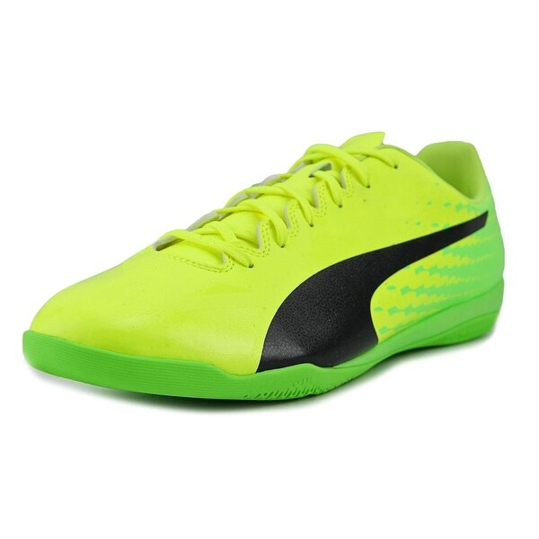 Puma evoSPEED 17.4 IT Men Round Toe Synthetic Yellow Cleats