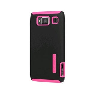 Incipio Dual Pro Case for Motorola Droid RAZR MAXX HD - Black/Neon Pink