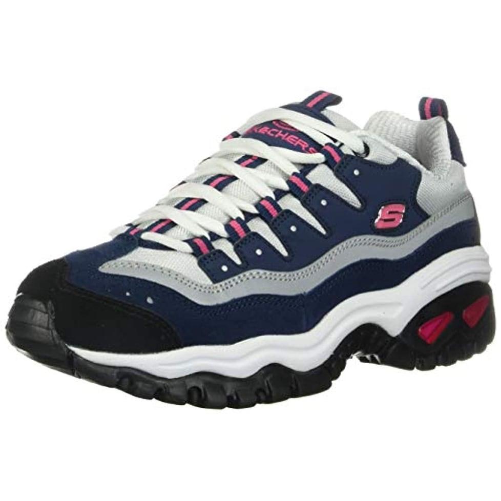 Wave Linxe Sneaker, Navy/Hot Pink