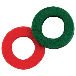 Victor 22-5-00613-8 Sure Start Side Post Battery Washer, Green/Red