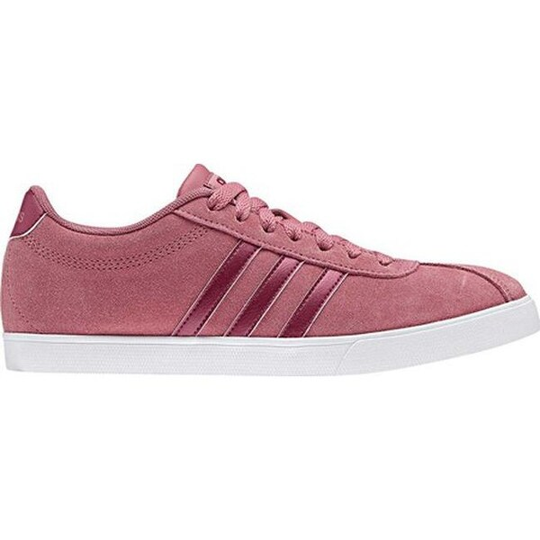 adidas Women's NEO Courtset Sneaker Trace MaroonMystery RubyMystery Ruby