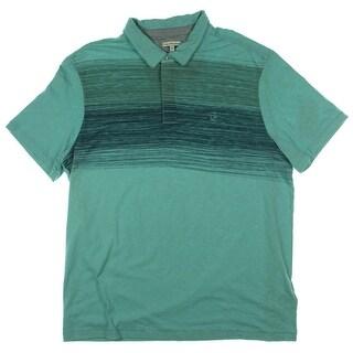 Calvin Klein Jeans Mens Polo Shirt Cotton Slub - XL