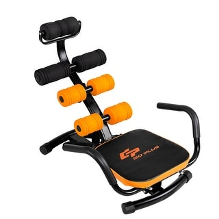 Costway Core Ab Trainer Bench Abdominal Stomach Exerciser Workout Gym Fitness Machine - as pic