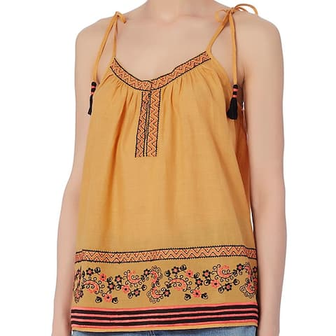 Love Sam Embroidered Cotton Tank Size S