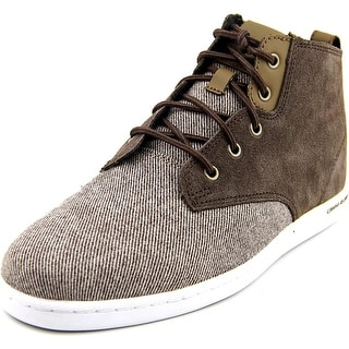 Creative Recreation Vito Men Round Toe Suede Brown Sneakers