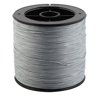 Braided String Jewelry Maker Fishing Line Gray 300m Length