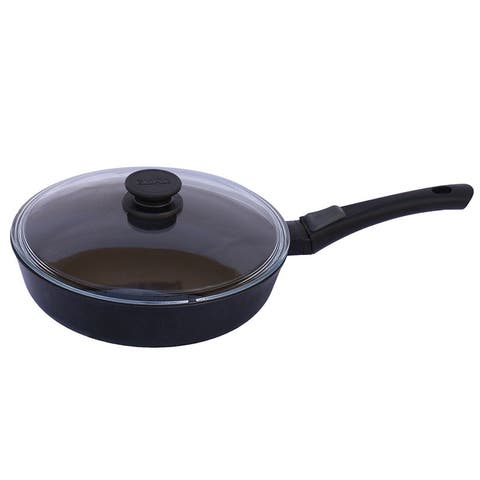 BIOL 8.7-Inch Classic Non-Stick Pan W/ Glass Lid & Removable Handle