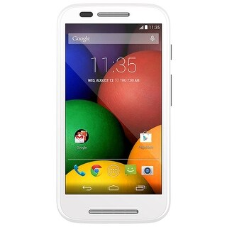 Motorola Moto E (1st Gen.) XT1023 Unlocked GSM Android Phone w/ 5MP Camera - White