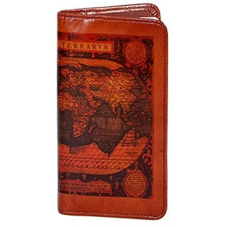 Link to Scully Western Planner Old Atlas Leather Pocket Notebook - One Size Similar Items in Planners & Accessories