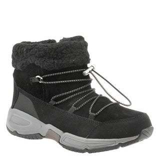 Link to Easy Spirit Womens Voyage Faux Fur Round Toe Ankle Cold Weather Boots Similar Items in Women's Shoes